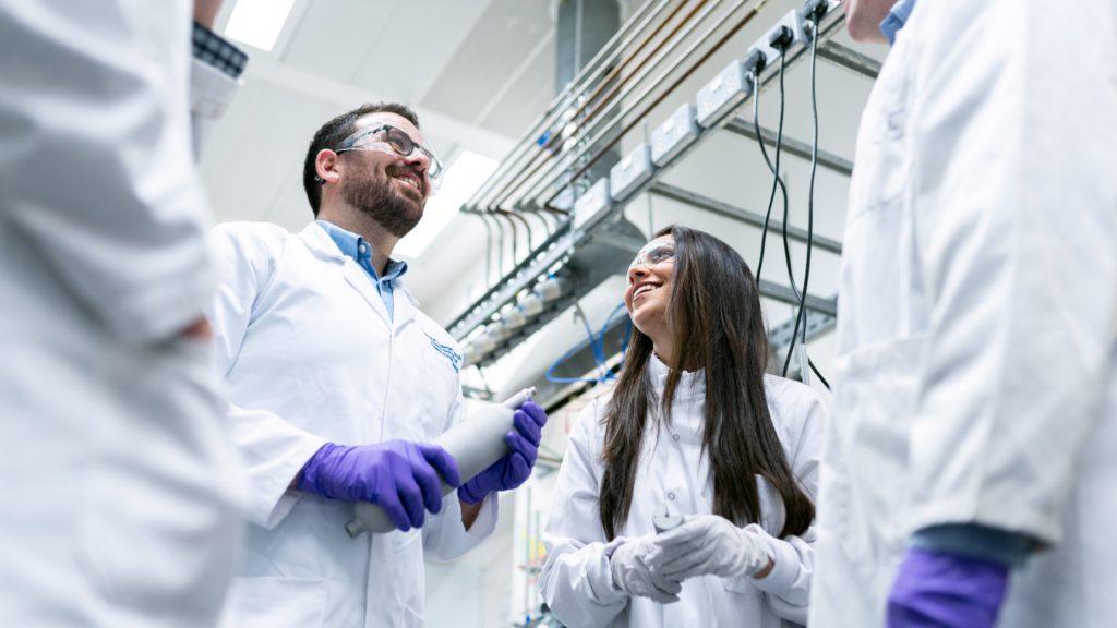 Engineers from Aptys Pharma